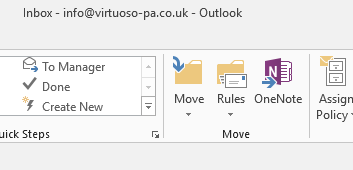 OneNote with Outlook